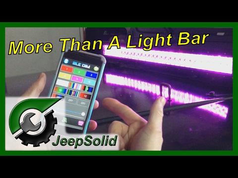 32 Inch Strobe Light Bar Review
