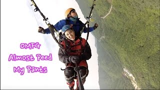 Jumped Off a Mountain in Korea ?! Paragliding Adventures in Yangpyeong