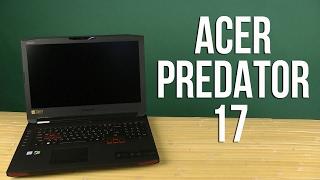 Розпакування Acer Predator 17 G9-793