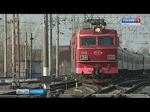 Поезд сбил женщину в Петрозаводске