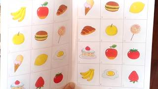 2歳の子どもが初めて家庭保育園の教材を使ってみた.