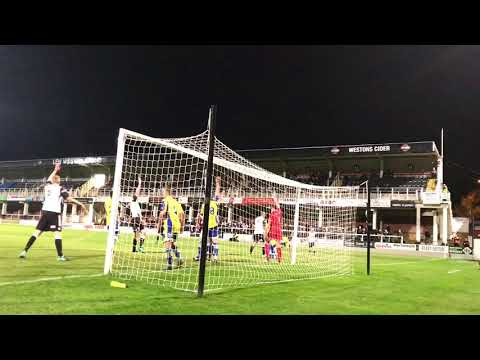 @HerefordGoals Clips Video: Hereford FC 0-1 Farnborough FC