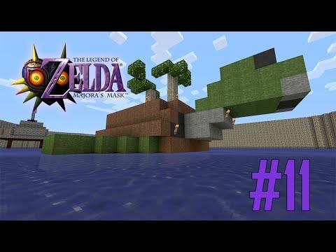 Majoras Mask Legend of Zelda Minecraft Adventure Map - Ep 11 w ...