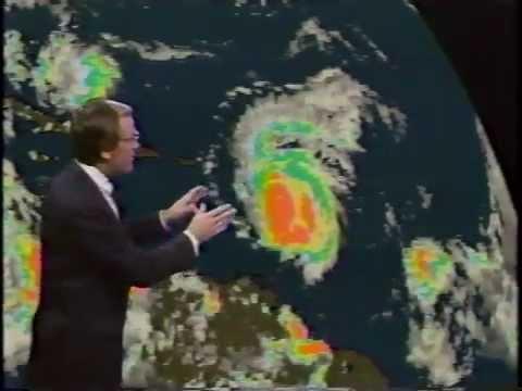 Hurricane Hugo (1989) TV coverage 1/3