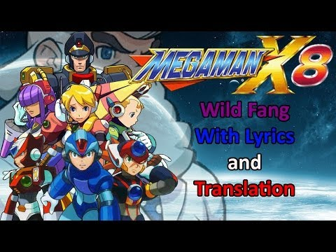Megaman X8 - Wild Fang with lyrics and translation