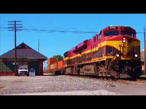 CSX Q109 with KCS Belles in North Baltimore Ohio