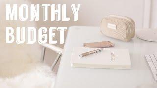 How I Make A Monthly Budget