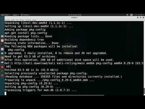GUN/Linux   Kali Linux 2019.3   Sistema de monitoreo NetData