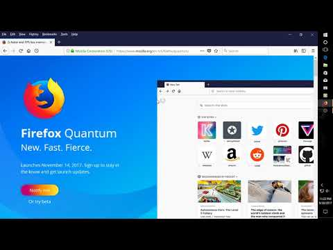 Firefox Quantum Beta First Look
