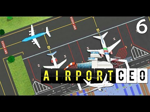Airport CEO Gameplay - 5 medium airplane stands - Ep. 6
