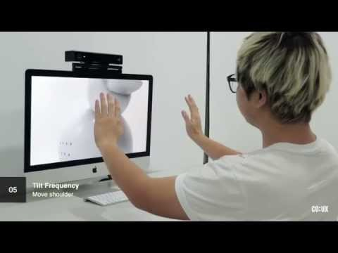 KiiD UX : Gesture based 3D sculpting UI 2015