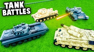 EPIC LEGO TANK BATTLES With Spy, Camodo and OB! (Brick Rigs Multiplayer Gameplay)