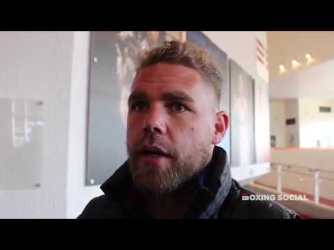 BILLY JOE SAUNDERS TALKS ABOUT KELL BROOK COMEBACK & SPARRING, GOLOVKINALVAREZ, FUTURE PLANS & MORE