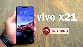 Vivo X21 unboxing and first look: Specs, features and price