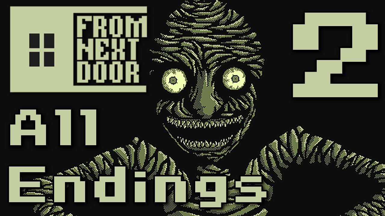 From Next Door   ALL ENDINGS (RPG Maker Horror) Manly Letu0027s Play [ 2 ]    YouTube