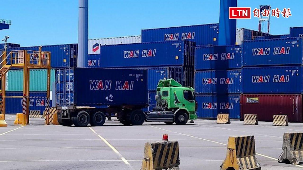 昨晚才清空 台中港今午又運進20只硝酸銨貨櫃