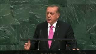 Выступление президента Турции Реджепа Эрдогана на Генассамблее ООН