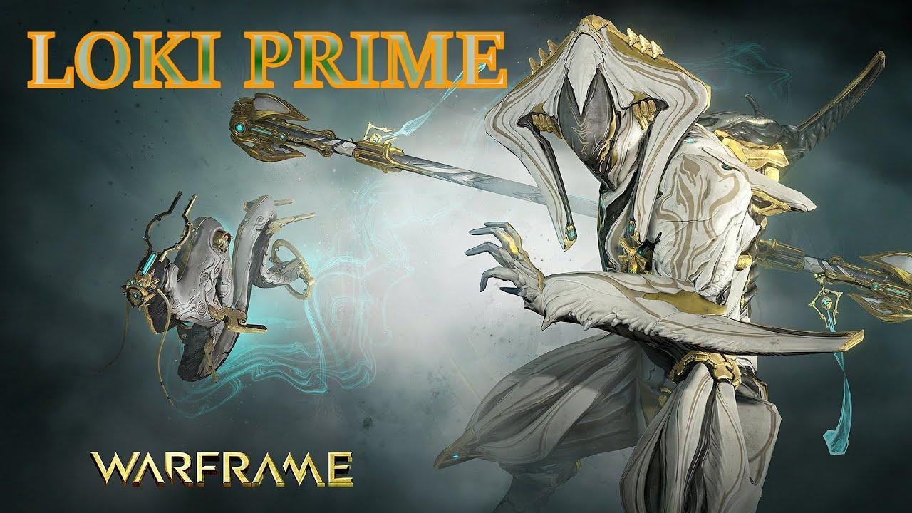 Bo prime warframe builder loki