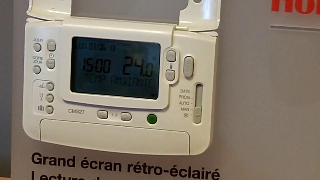Proc U00e9dure De Reconnaissance D U0026 39 Un Thermostat Cm927rf