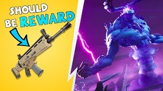 Mythic Weapons & The Storm King Boss  Fortnite Save The World Discussion