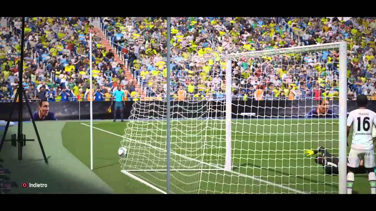 FIFA 16 Demo Primi gol su next gen (ps4): Reus e ...