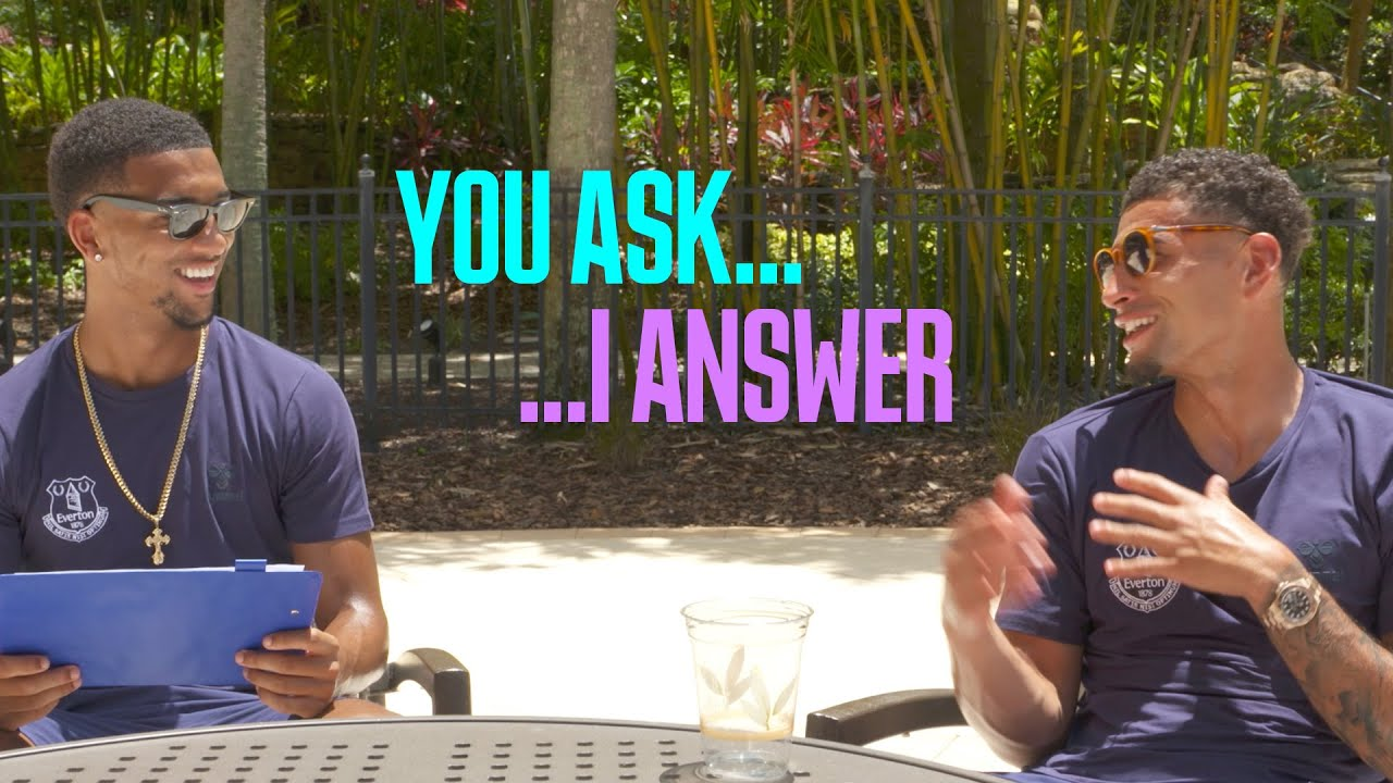 MASON HOLGATE x BEN GODFREY AMA | YOU ASK, I ANSWER...
