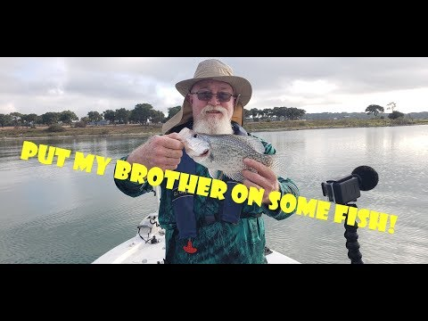 Crappie Fishing Canyon Lake With My Brother Jim