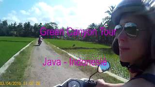 Green Canyon Tour  - Java, Indonesië