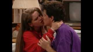 Michelle watches DJ and Steve kiss Full House