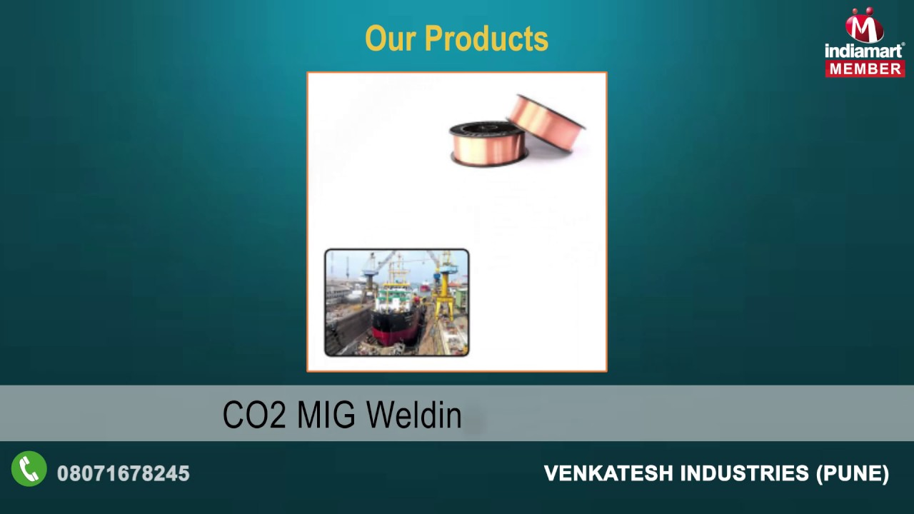 Welding Wire By Venkatesh Industries, Pune - YouTube