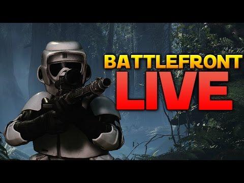 Fixing Monday Blues! - Star Wars Battlefront LIVE