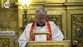 2019-03-24 Kazanie Pasyjne, ks. prof. Tadeusz Guz, bazylika Świętego Krzyża