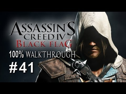 """Assassin's Creed 4: Black Flag - PART 41 """"Crocodile Kenway"""" / 100% Completionist"""