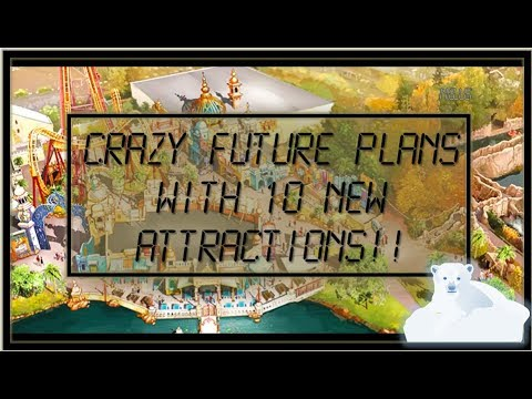 CRAZY FUTURE PLANS WITH 10 NEW ATTRACTIONS! | Walibi Belgium