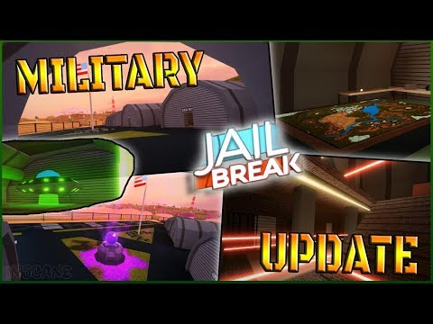 🔴 ROBLOX JAILBREAK MILITARY UPDATE TONIGHT // NEW MILITARY BASE + NEW MILITARY PRISON