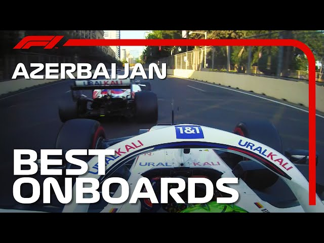 Max's Crash, High-Speed Duels, And The Best Onboards   2021 Azerbaijan Grand Prix   Emirates