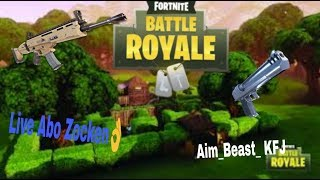 Abo Zocken / Fortnite Live Anglais / Aim-Beast