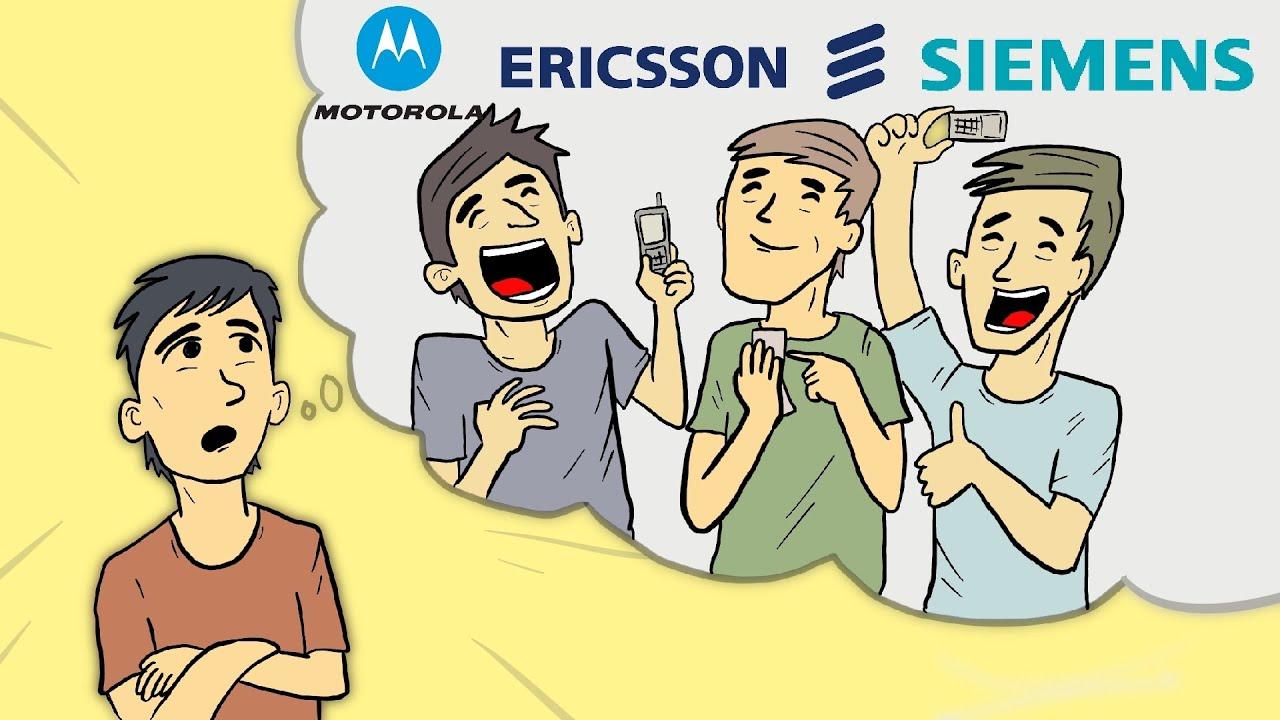 Dulu HP Terkenal, Tapi Mengapa Siemen, Motorola dan Ericcson Gagal dan Kemanakah Mereka Sekarang