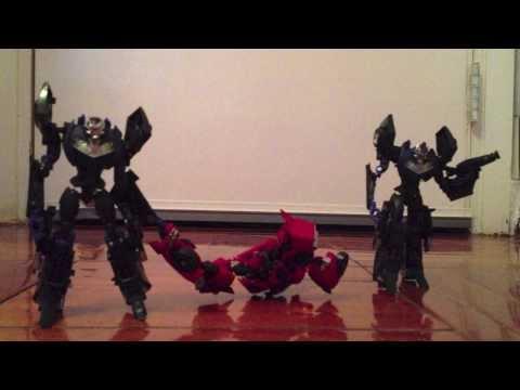 Transformers Prime Season 1 Episode 1 Darkness Rising ( Cliffjumper's death)