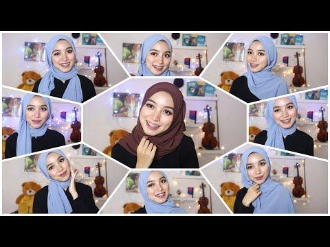 Cara Hijab Segi Empat Dengan Mudah