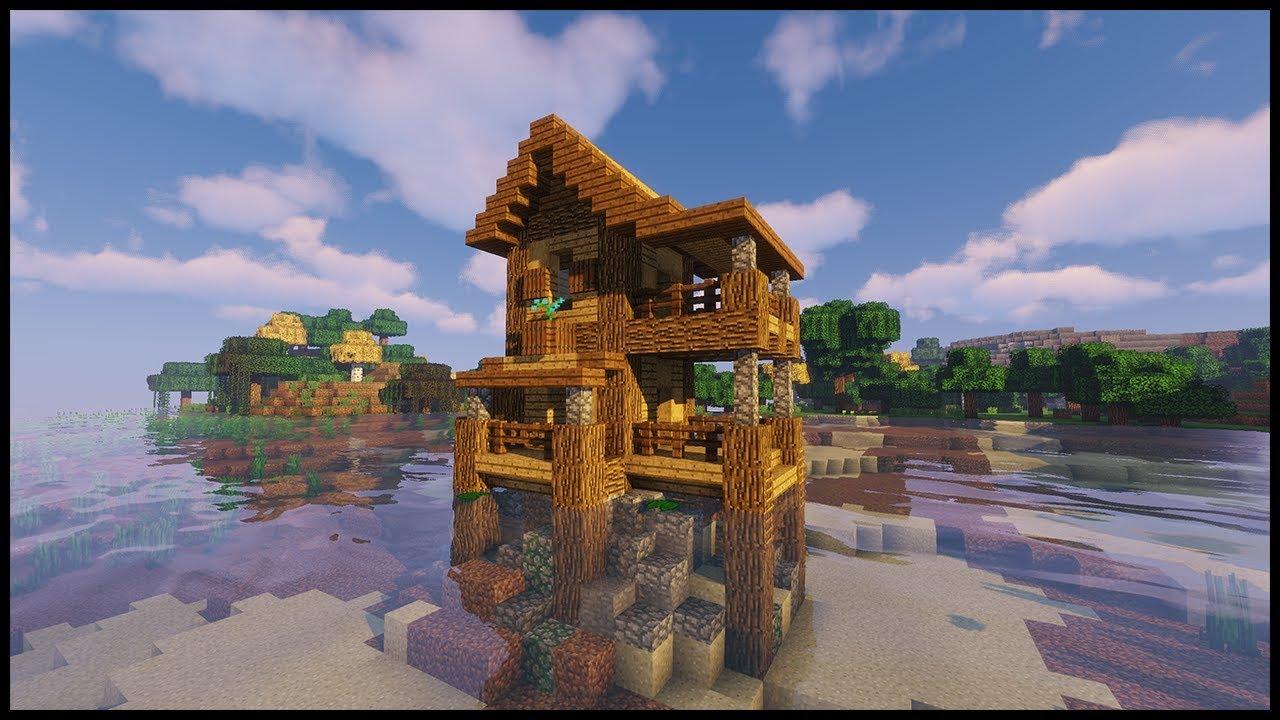 Minecraft Starter House Minecraft 1 13 Tutorial Youtube