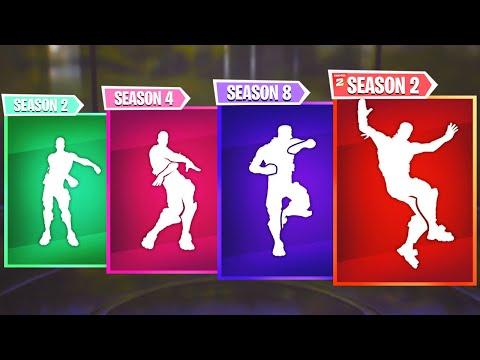 Top 5 Best Fortnite Dances Of Every Season | Season 1- Chapter 2 Season 2