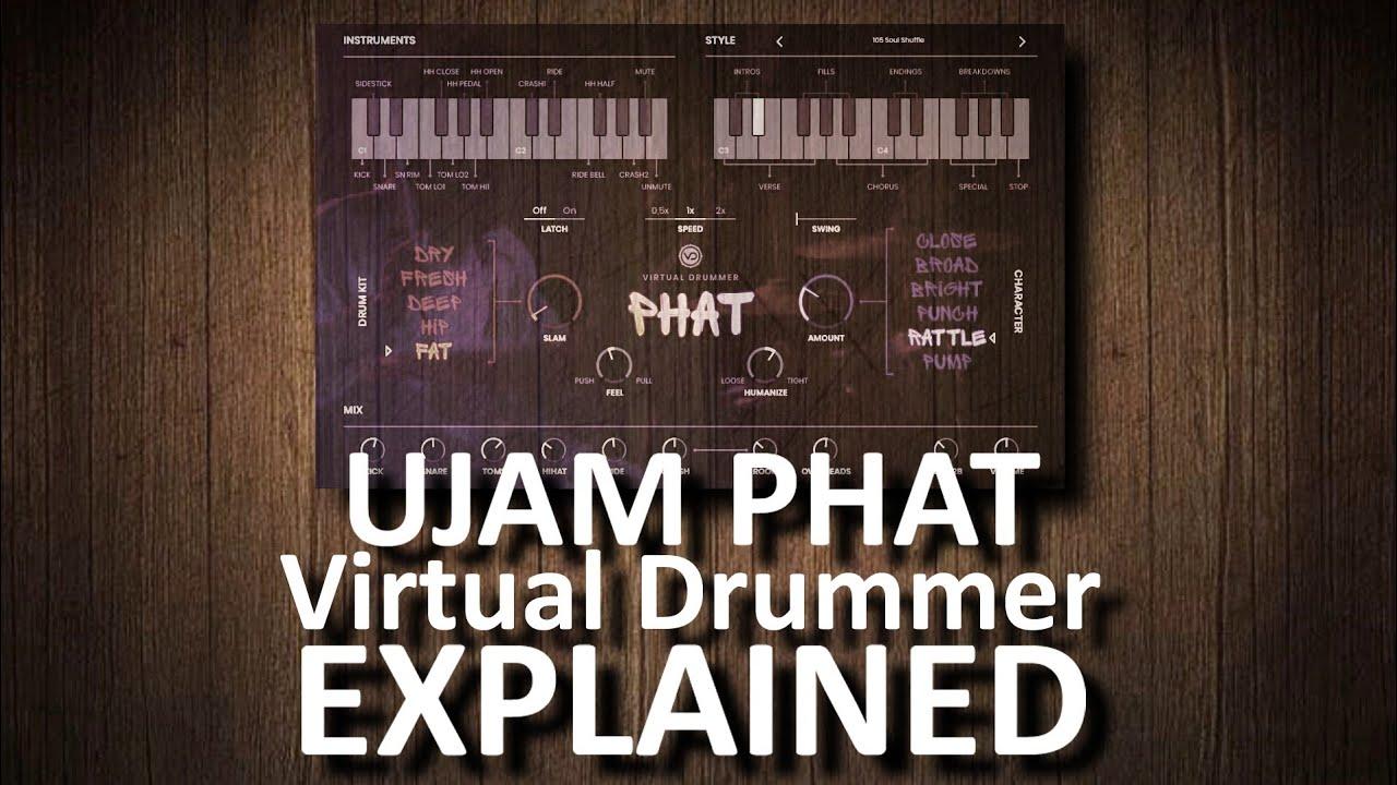 Virtual Drummer PHAT by UJAM | explained