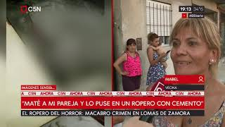 Macabro crimen en Lomas de Zamora: habla una vecina
