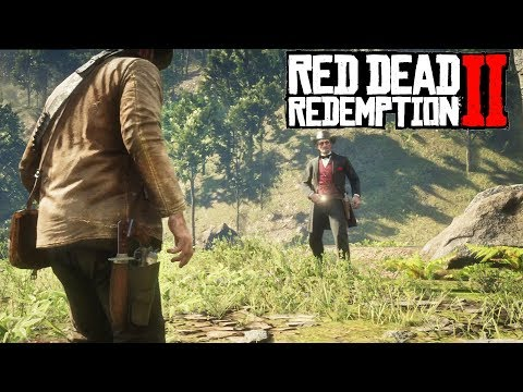 Red Dead Redemption 2 - Duel With Jim Boy Calloway (Legendary Gunslinger)