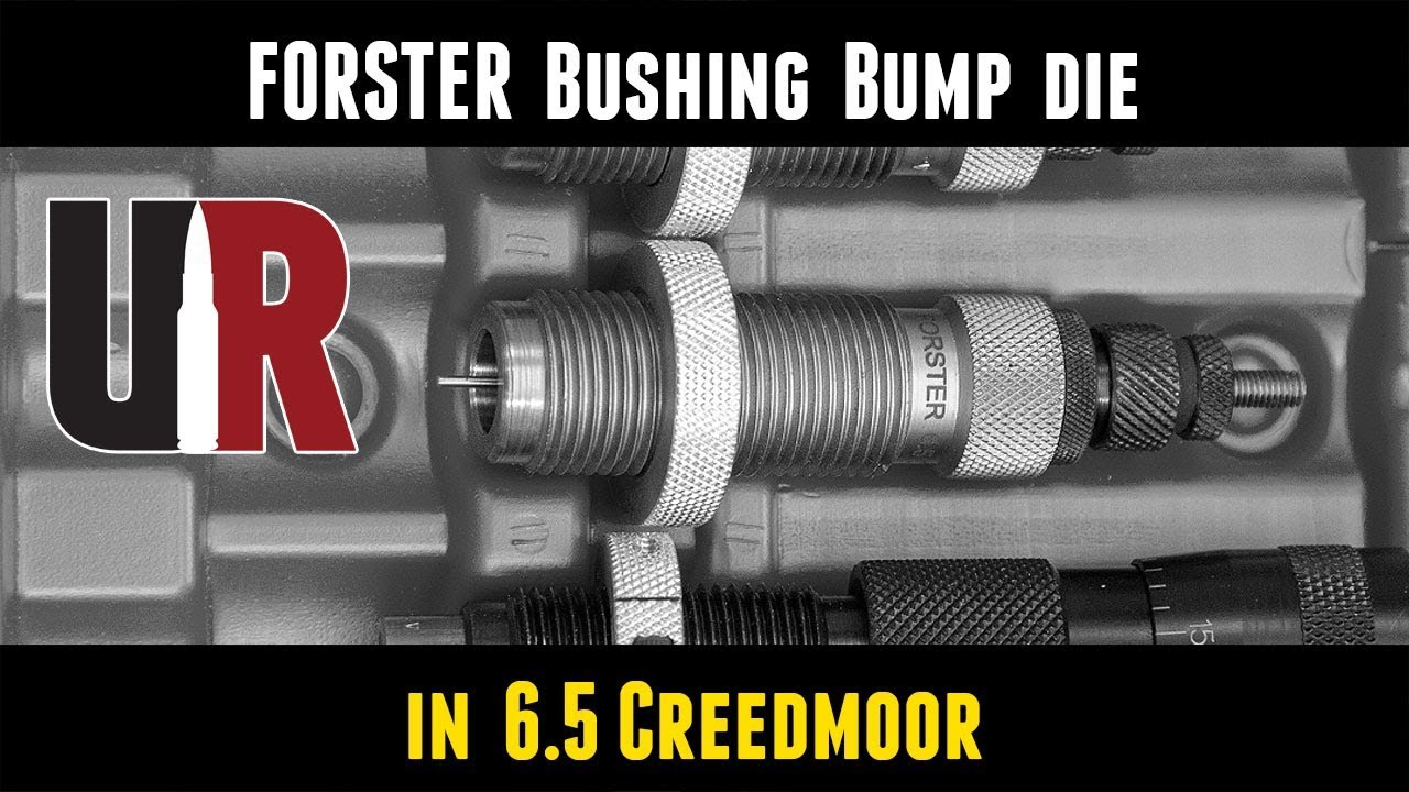 6.5 Creedmoor Forster Decapping Unit for Full Length /& Neck Sizing Dies