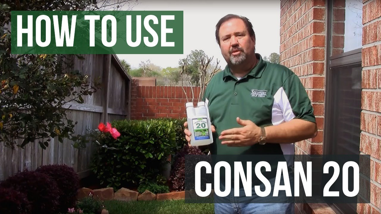 How to Use Consan Triple Action 20 Fungicide