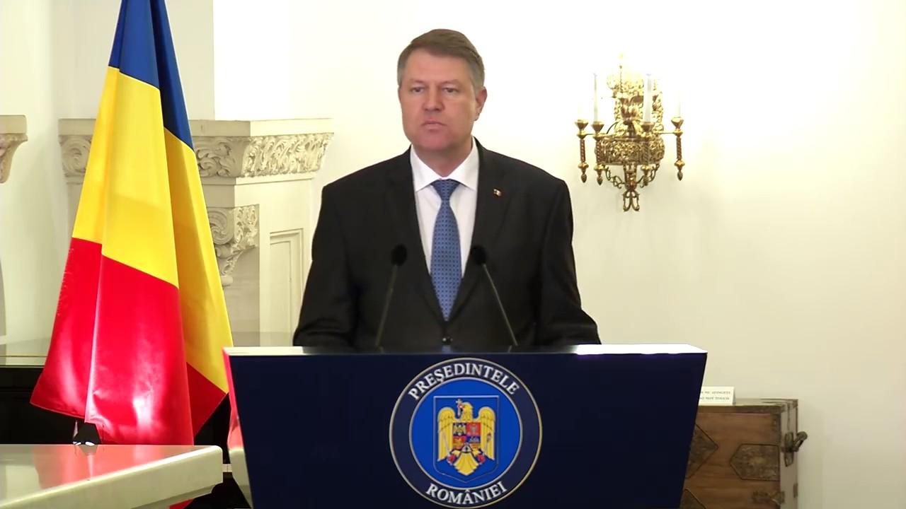 Klaus Iohannis anunta referendum pentru legea gratierii si modificarea Codurilor Penale