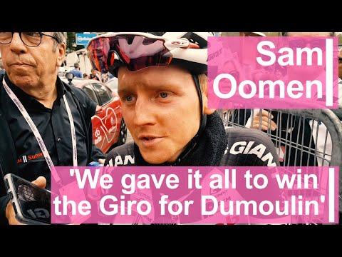 Sam Oomen: 'We gave it all to win the Giro for Dumoulin'