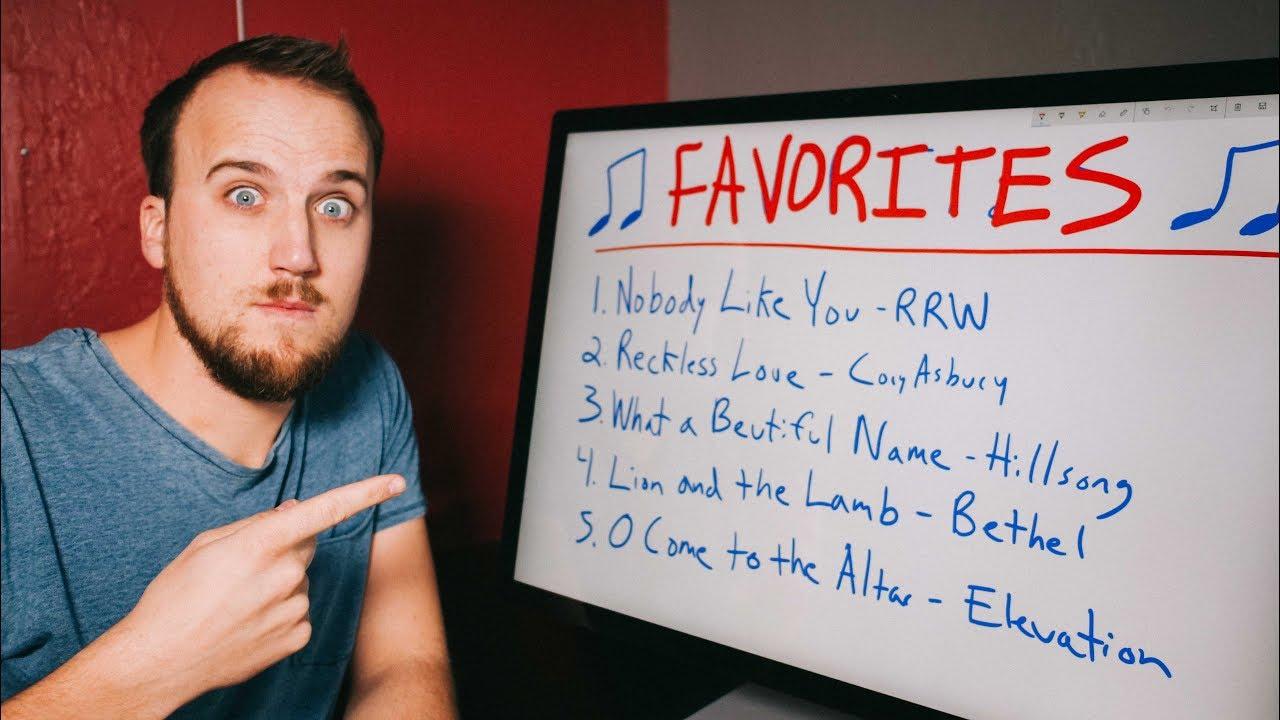 My favorite worship songs — Churchfront with Jake Gosselin